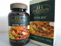 Body & Health Royal Jelly 1000mg 60 Capsules