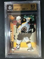 2007-08 Upper Deck David Krejci Young Guns Rookie BGS 9.5