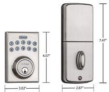 Kwikset 92640-001 Contemporary Electronic Keypad Single Cylinder Deadbolt... New