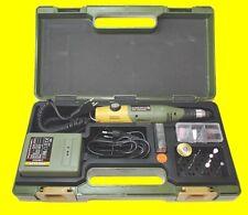 PROXXON 28515 Modellbauer- und Gravierset mit Handgerät 60/E Netzteil im Koffer