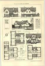 1907 Design For Country Vicarage