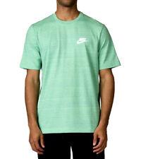 Nike Sportswear Advance 15 Knit T-Shirt sz S Small Tourmaline Green Breathe Nsw