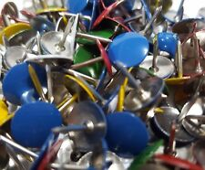 400 Assorted Color Push Pin Thumb Tacks Multi Color Head Office Home