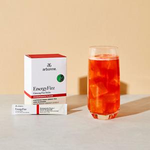 Arbonne EnergyFizz Ginseng Fizz Sticks - Pomegranate Flavor #2079