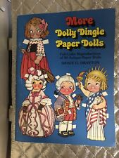 30 More Dolly Dingle Antique Paper Dolls Book Reproduction 1979 Grace Drayton