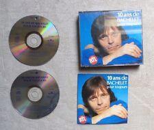 """CD AUDIO / PIERRE BACHELET """"10 ANS DE BACHELET POUR TOUJOURS"""" COFFRET 2XCD 1992"""