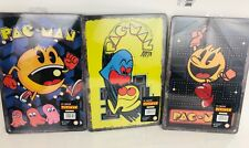 Entire Set of 3 8 x 12 Retro Pac-Man Tin Signs For Arcade Game or Room Man Cave