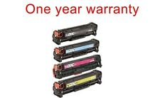 4 Non-OEM replacement Ink Toner cartridge for HP LASER-JET CM2320N color printer