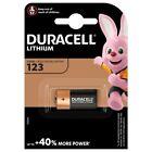 Pile Lithium Duracell CR123 3V