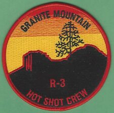 GRANITE MOUNTAIN ARIZONA FORESTRY HOT SHOTS FIRE PATCH