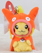 "Pokemon Go Pikachu Gyarados Magikarp Cloak Plush Doll Stuffed Toy 5"" Gift US"