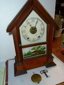 Antique-Seth Thomas-Rosewood-Shelf Clock-Ca.1880-To Restore-#F99