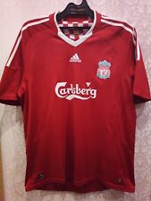 "Liverpool FC 2008-2010 Shirt Adidas XL (46""-48"") Adult #9 Torres Very-very Good"