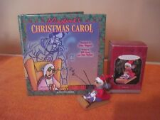 1998 Hallmark Ornament & Shoebox Book with Maxine'S Design & Story, Good Cond.
