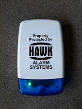 Dummy House Alarm Box & 2 Flashing LEDs - Fake House Alarm Box & Flashing LEDs