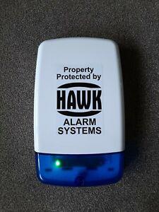 Dummy House Alarm Box 2 Flashing LEDs - Dusk To Dawn - Fake House Alarm Box LEDs