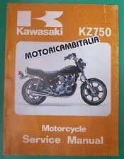 KAWASAKI KZ750 LTD Z750 Z 750 MANUALE OFFICINA MANUAL WORKSHOP SERVICE HANDBOOK