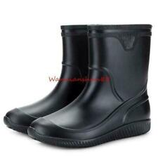 Mens Rain Boots Waterproof Non-slip Water garden Ankle Boots casual Shoes Chic