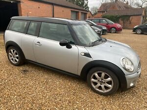 2007 57 MINI COOPER D CLUBMAN * STARTS/RUNS * SPARES OR REPAIR NON RUNNER