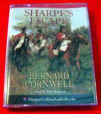 Bernard Cornwell Sharpe's Escape 2-Tape Audio Bk NEW SEALED Paul McGann Portugal