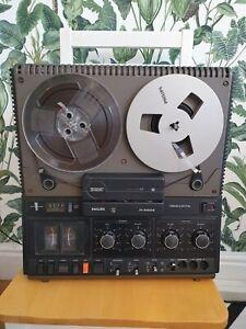 Philips N4504 3 head reel to reel tape recorder.  Serviced.