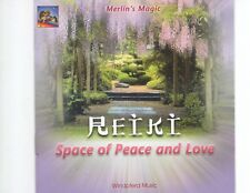 CD MERLIN'S MAGICspace of peace and loveNEAR MINT (R0283)