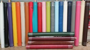 Faux Leather Leatherette Craft Fabric Flame Retardant Upholstery - 25 colours