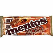 Made in Denmark- Mentos Milk Choco & Caramel 3 rolls -Now shipping from USA