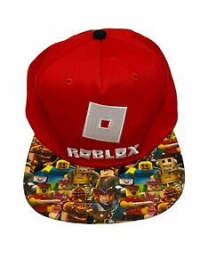 ROBLOX Video Game Youth Kids Hat Cap Snapback Red Adjustable ONe Size Fits Most