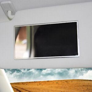 Car Motorhome Vanity Lady Mirror Glass Self Adhesive Stick On Sun Visor