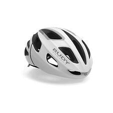 Casco bici Rudy Project Strym Corsa MTB Strada ciclismo SM 55-58cm White Stealth