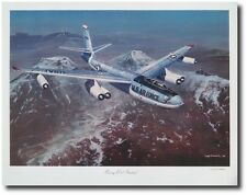 Boeing B-47 Stratojet by Tony Fachet - Aviation Art - Airplane Decor