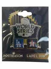 Houston Astros Los Angeles Dodgers 2017 World Series Collector's Metal Lapel Pin