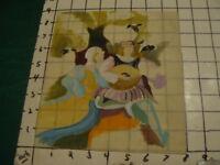Vintage Original ---- LESLIE SNOW (Feron) Art -- OLD tyme Musicians -- SIGNED