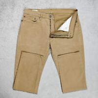 Mens LEVIS 511 Stretch Chino Trousers Size W34 L30 Slim Fit Tapered leg pants