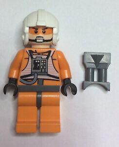 Lego Star Wars Minifigures - Rebel X Wing Pilots Zev Senesca (plain white)