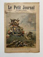 Supplément Illustré Le Petit Journal 30/12/1893, N°162, GRENOUILLE ET LE BOEUF