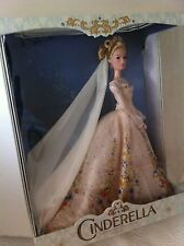 "Disney  17"" Cinderella  Limited Edition of 500  wedding doll - Live action Film"