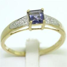 Natural Iolite Fine Rings