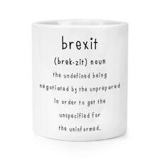 Brexit The Undefined Makeup Brush Pencil Pot Funny Political Britain Europe EU