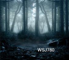 10X10FT Dark Forest vinyl photography Background Backdrop studio props WSj780