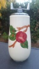 "Franciscan Apple Pattern Bulbous Pepper Mill 7¼"" Tall"