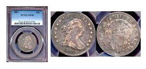 1807 25C-PCGS XF40-Nice Toning Quarter ++