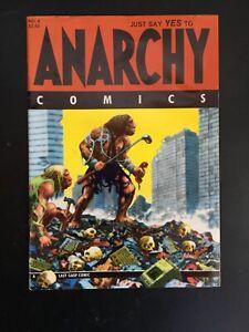 Anarchy Comics #4 (Last Gasp Comics) 1987.