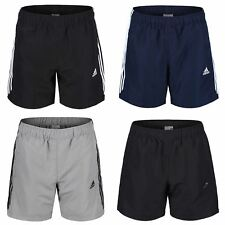 adidas ESSENTIAL 3 STRIPE CHELSEA SHORTS MEN'S CLIMALITE S M L XL XXL GYM