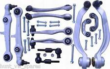 AUDI A4 B5 A6 C5 - FRONT SUSPENSIONS KIT ARMS BALL JOINTS TRACK RODS ( 20MM )