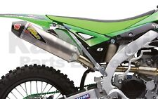 NEW Kawasaki Pro Circuit Ti-5 Complete System with Carbon End Cap 12-15 KX450F