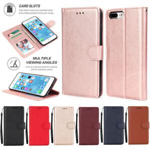 Case For Samsung J2 J3 J4 Prime J5 J6 J7 J8 Magnetic Leather Wallet Phone Cover