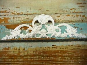 Shabby N Chic Rose Center *Cottage Furniture Appliques