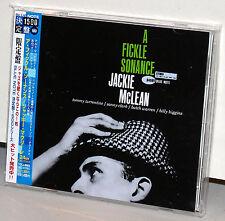 BLUE NOTE CD TOCJ-6583: JACKIE McLEAN - A Fickle Sonance, OOP JAPAN 2005 OBI NEW